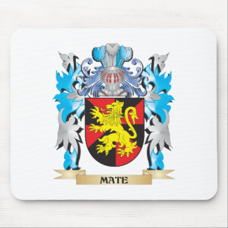 Mate Coat of Arms - Family Crest Mouse Pads