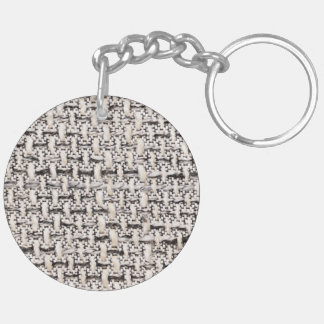 Material background Double-Sided round acrylic key ring
