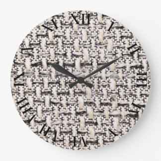 Material background large clock