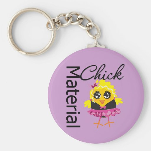 Material Chick Key Chain