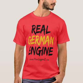 Material German engine - World route T-Shirt