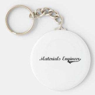 Materials Engineer Professional Job Keychains