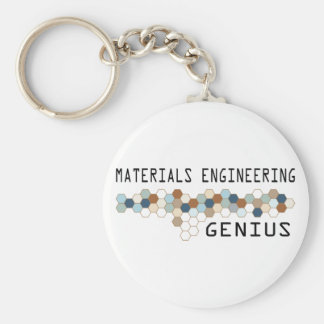 Materials Engineering Genius Keychains
