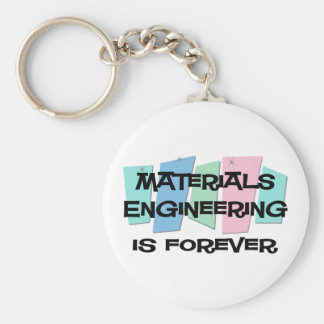 Materials Engineering Is Forever Keychains