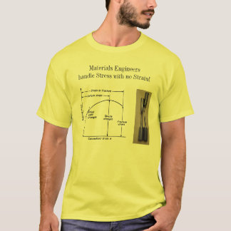 Materials Engineers Handle Stress with no Strain! T-Shirt