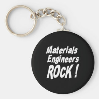 Materials Engineers Rock! Keychain