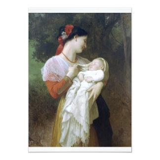 Maternal admiration 13 cm x 18 cm invitation card