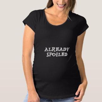 Maternity Already Spoiled Maternity T-Shirt