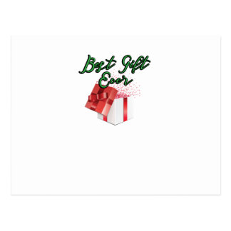 Maternity Best Gift Ever Christmas Bump Pregnancy Postcard