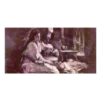 Maternity By Grigorescu Nicolae (Best Quality) Personalized Photo Card