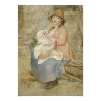 Maternity by Pierre-Auguste Renoir Invites