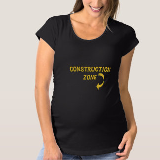 Maternity Construction Zone Maternity T-Shirt