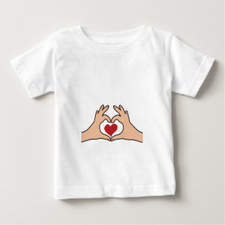 Maternity Hands Heart Funny pregnancy for women Baby T-Shirt