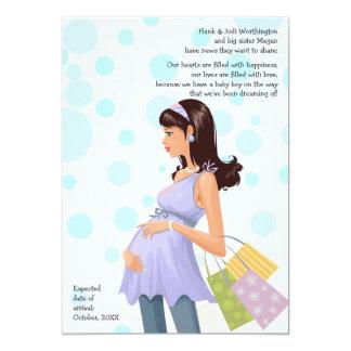 Maternity Mom Pregnancy (Boy) Announcement