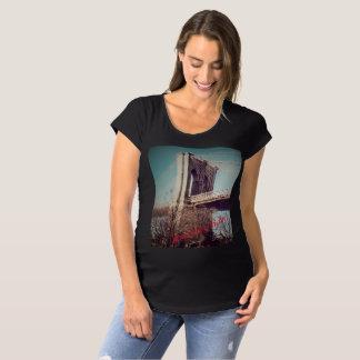 Maternity T shirt Brooklyn Baby! NY Edition