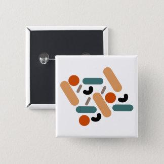 """Mates / 5.1 cm (2"""") Square Badge"""