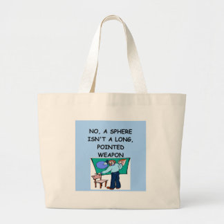 MATH4 LARGE TOTE BAG