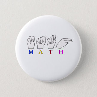 MATH 6 CM ROUND BADGE