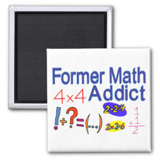 Math Addict Magnet