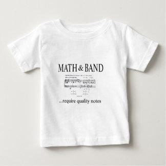 math and band revision tee shirt