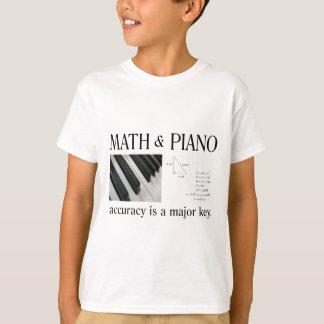 math and piano major key T-Shirt