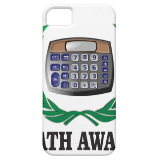 math award calculator barely there iPhone 5 case