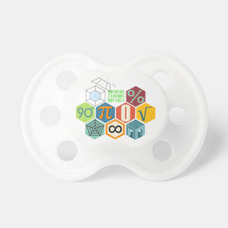 math baby baby pacifiers