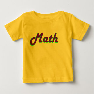 Math Baby Shirts