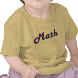 Math Baby Tee Shirts