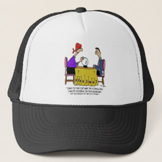 Math Cartoon 6487 Trucker Hat
