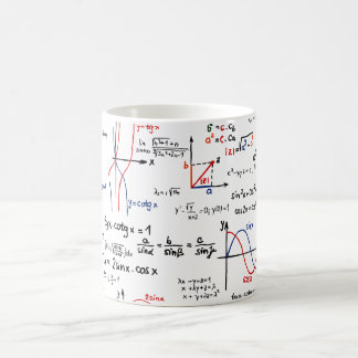 Math Cheat Sheet Mug