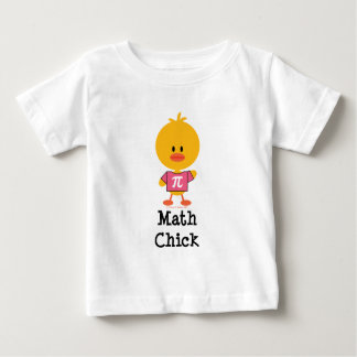 Math Chick Infant T shirt