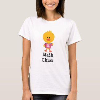 Math Chick T shirt