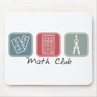 Math Club (Squares) Mouse Pads