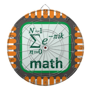 Math Computer Chip Dartboard