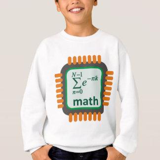 Math Computer Chip Sweatshirt