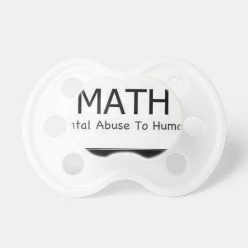 math pacifier