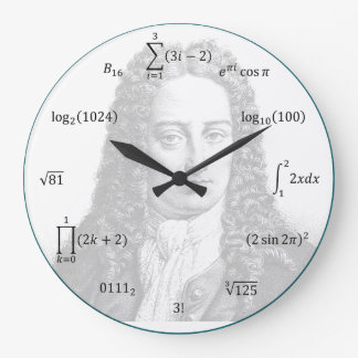 Math Equations and Notations Wallclock