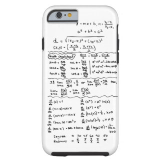 Math Equations Cheat Sheet iPhone 6 case