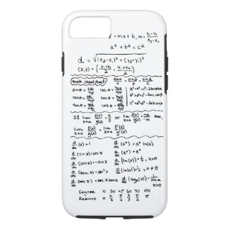 Math Equations Cheat Sheet iPhone 7 case