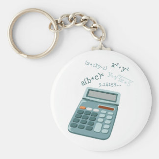 Math Equations Key Ring