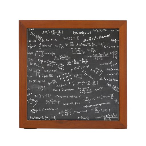 Math Formulas And Numbers Pencil Holder