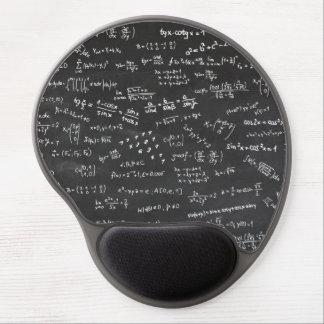 Math Formulas Chalkboard Gel Mouse Pad