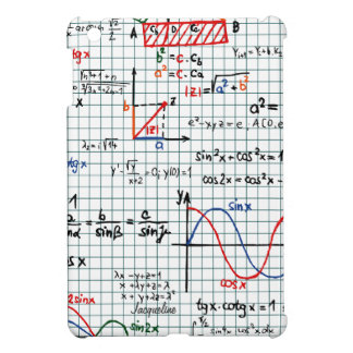 Math Formulas Numbers  iPad Mini Case