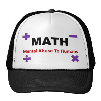 Math Full Trucker Hats