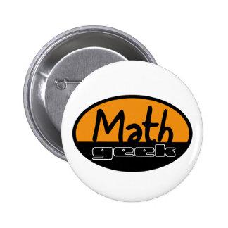 Math Geek Button