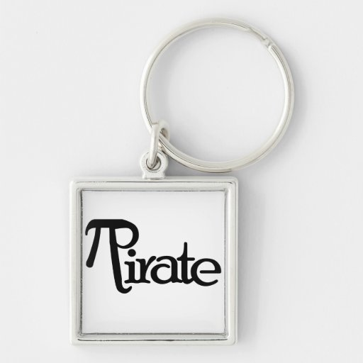 Math Geek Pirate Keychains