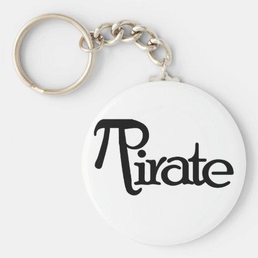 Math Geek Pirate Keychain