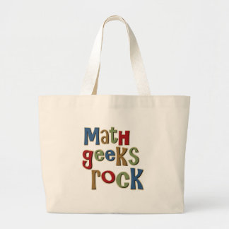 Math Geeks Rock Jumbo Tote Bag