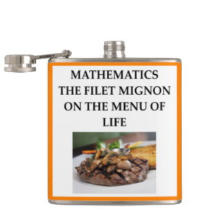 MATH HIP FLASK